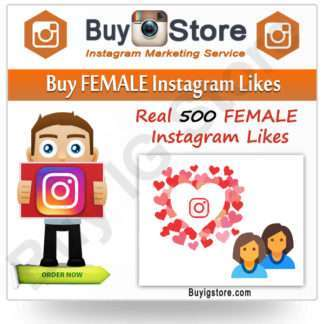 Buy FEMALE Instagram Likes