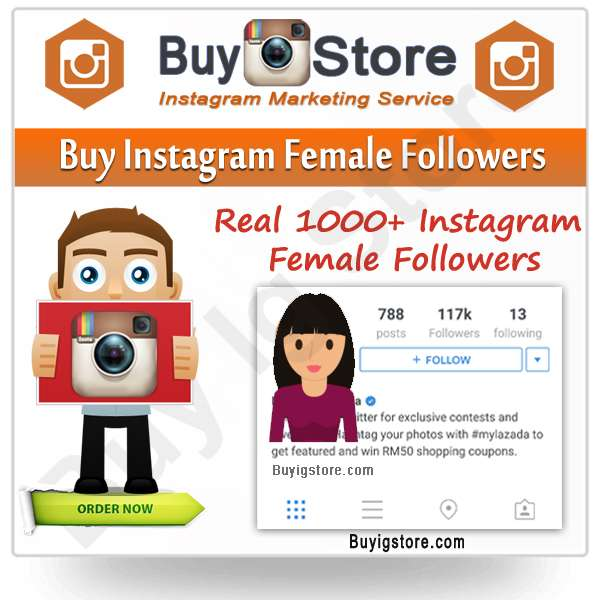 Buy Instagram Female Followers