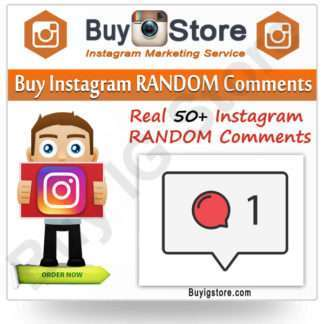 Buy Instagram RANDOM Comments
